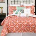 Trina turk bedding trellis coral comforter and duvet cover sets