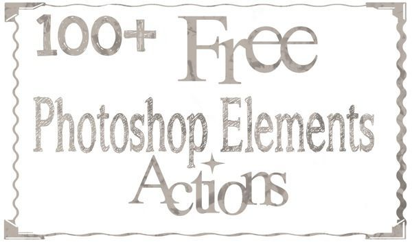 Stock Photos: Free Photoshop Elements Actions