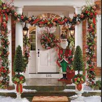 Outdoor Christmas Decoration Ideas Pinterest