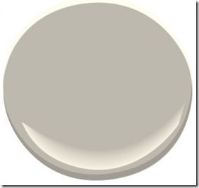 Thunder (AF-685) by Benjamin Moore    I chose this for a client at a recent colour consultation expecting it to be a grey beige. Once the painter was finished I realized that this is probably the perfect, elusive gray that we are all looking for. There are no obvious undertones that take over as there normally are with gray. It's deceiving on the chip though because it looks more grey beige than gray