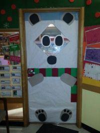 Classroom door polar bear. | Christmas / Winter Classroom ...