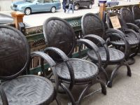 Chairs made with bicycle tires | Upcycle, recycle, re ...
