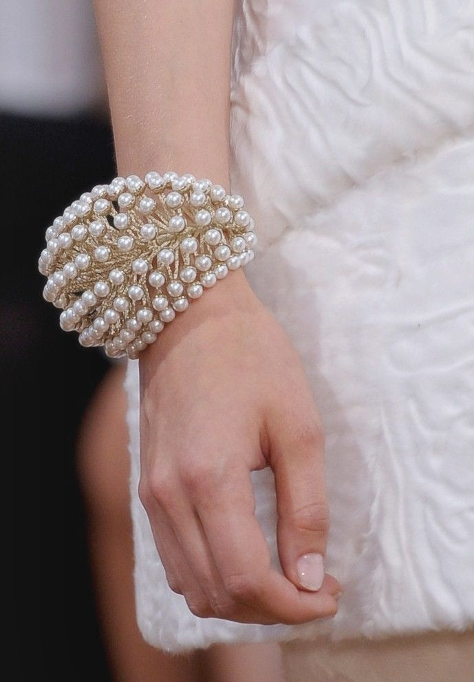 Christian Dior Haute Couture Fall 2012  Jewelry details