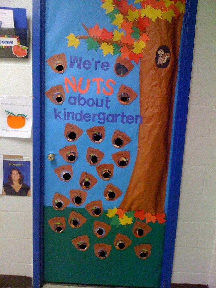 September Door! We're Nuts about Kindergarten!