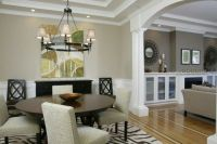 Living room with columns pillars | Living rooms, columns ...