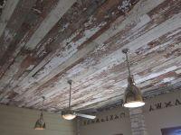 Reclaimed Barnwood Ceiling @Nester Smith | decor | Pinterest