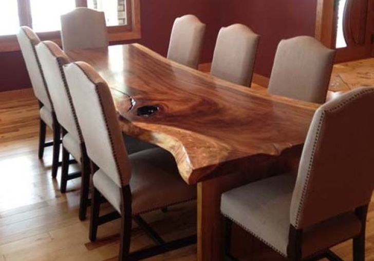 Kitchen Island Made From Old Table