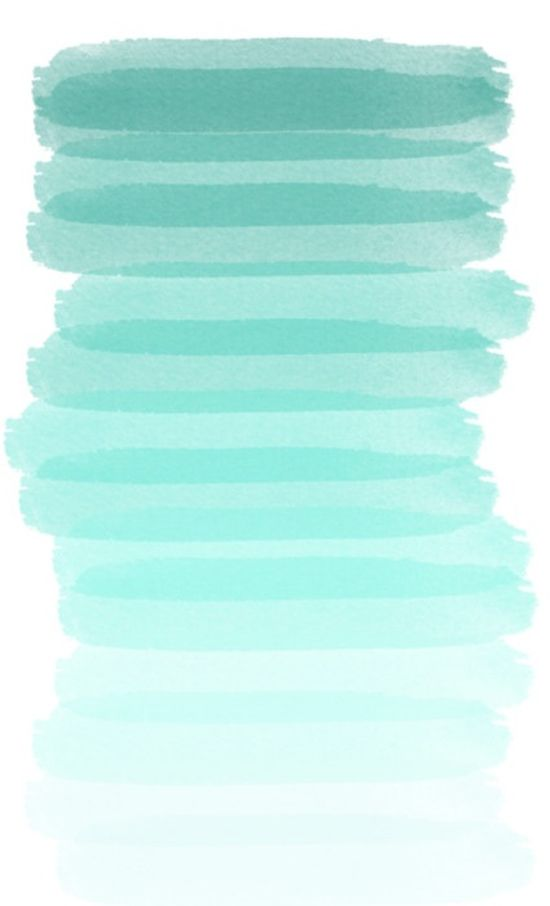 Shades of turquoise.