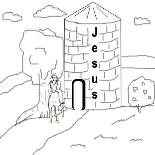 God Is Strong Pages Coloring Pages