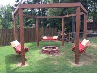Fire pit swings   House   Pinterest