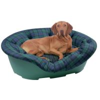 Plastic Dog Bed easy fit Cover. | dog crate | Pinterest