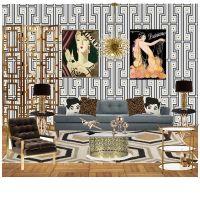 1920s Living Room | decor inspirations | Pinterest