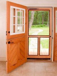 Dutch Door: Dutch Doors With Screens