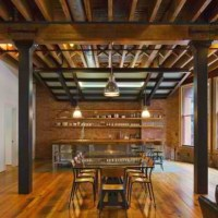 exposed wood beams | {interior design} | Pinterest