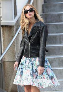STYLE AT EVERY AGE: Wednesdays Wardrobe Staple - The Leather Biker Jacket