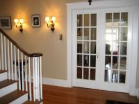 french doors to living room/dining room | Houses | Pinterest