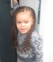 cool spin simple cornrow
