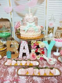 Vintage / Retro Baby Shower Party Ideas
