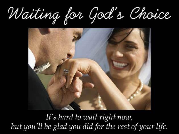 Waiting for God's Choice