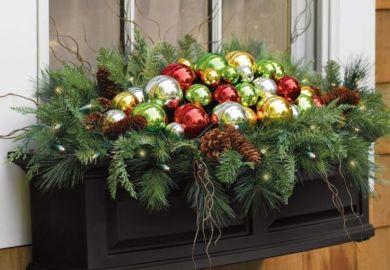 Christmas Outdoor Window Decoration Ideas
