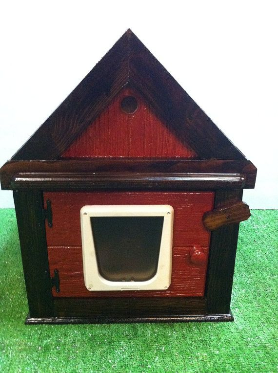 Outdoor Cat House Outdoor Cat House With Two Doors