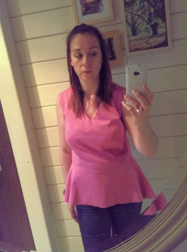 Day 23#MMMay 14#peplumtop with jeans
