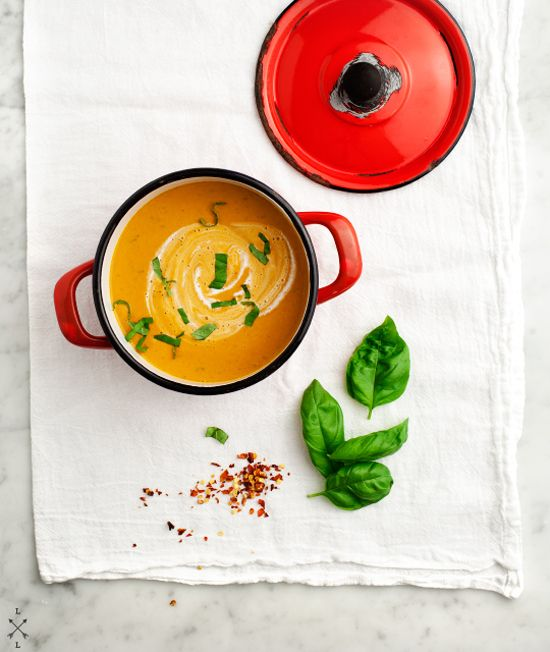 Creamy sundried tomato soup recipe | Love & Lemons