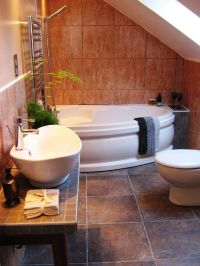 Under Stairs Bathroom Designs | Interior Ideas | Pinterest