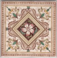 Victorian Antique Ceramic Tile | miniature tiles | Pinterest