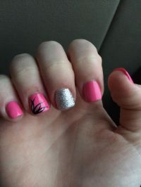 Short acrylic nails | {Beauty} | Pinterest