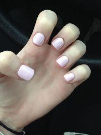 Super short light pink acrylic nails   Hair, Nails ...