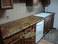 poured in place concrete countertop | Creative Countertops ...