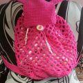 Crochet backpack crochet bags and bowels boxes pinterest