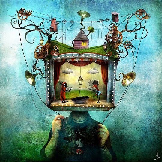 L'arte Whimsical di Alexander Jansson