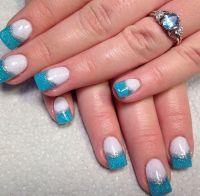Cinderella nails | Nails | Pinterest