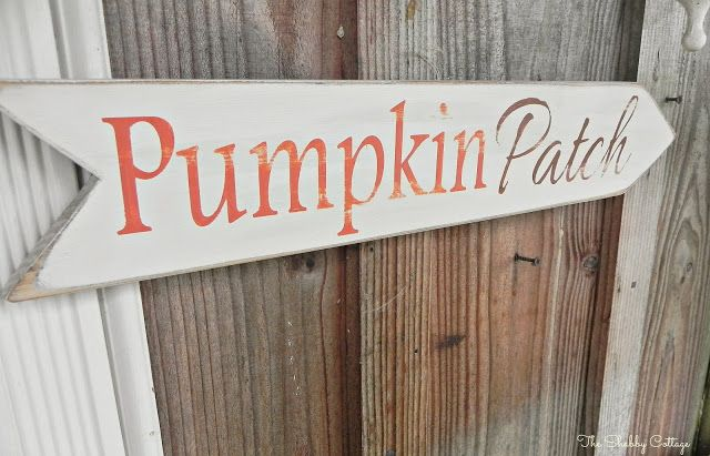The Shabby Cottage Home: Handmade Fall Decor