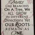 Vinyl family quote wall decor sign on printed by allaboutsigns1 25