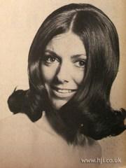 1969 revlon volume hairstyle mid