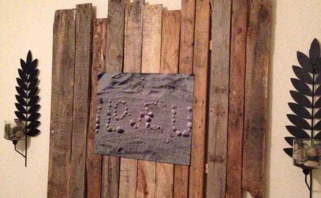 Pallet Wall Art Diy Crafts Pinterest