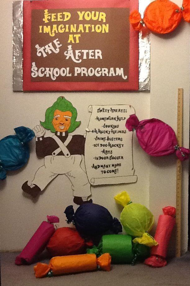 Willy Wonka Decoration Ideas