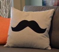 Mustache Pillow - Custom Pillows. $24.00, via Etsy.   Baby ...