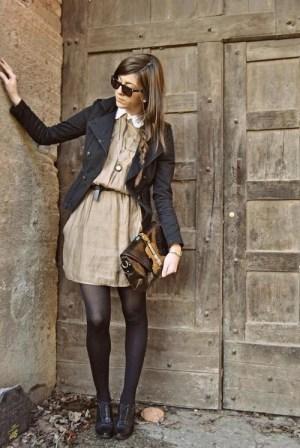 Cute dress / blazer combo