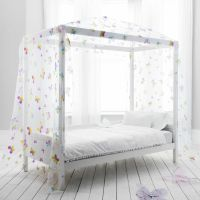 Butterfly Canopy Daybed 4 Poster Bed kids Bed