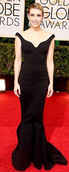 Emma Roberts: 2014 Golden Globes