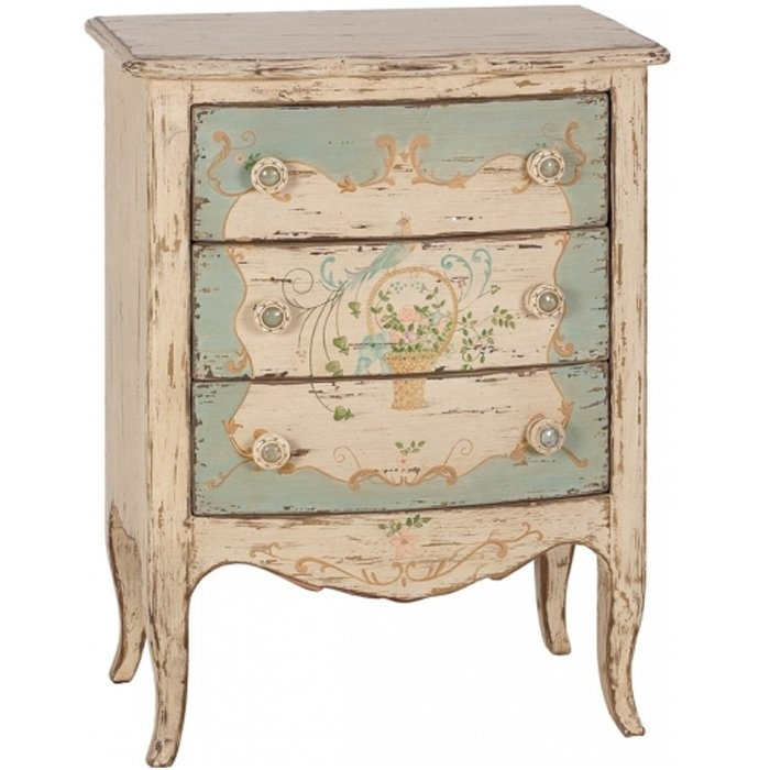 Painted Shabby Chic Nightstand