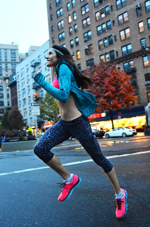Adorable run look from @NYCPRETTY (Christine Bibbo Herr)