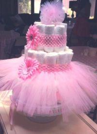 Baby Shower Cakes: Tutu Baby Shower Cake Ideas
