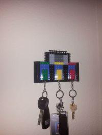 Lego Key Holder. | Neat! | Pinterest