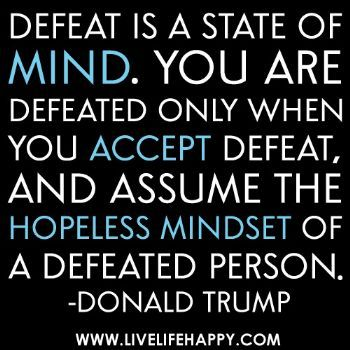 Never thought I'd ever ever agree with a quote from Donald Trump