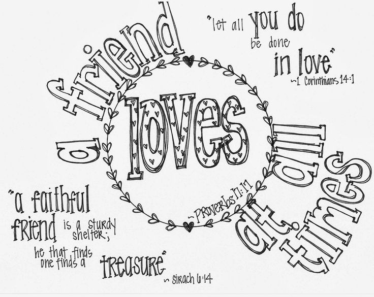 Friendship Quotes Coloring Pages. QuotesGram